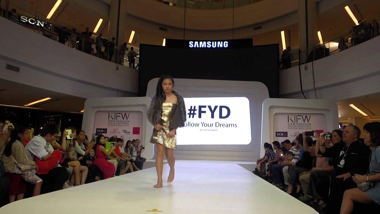 Cecilia Cassini Fashion Show KIFW 2014 Thailand - YouTube