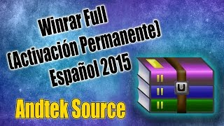 Instalar Winrar 32 y 64 bits | 2015 (Full en Español + Crak) Activación Permante