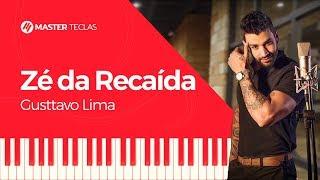 💎 Gusttavo Lima - Zé da Recaída - Piano tutorial - Master Teclas💎