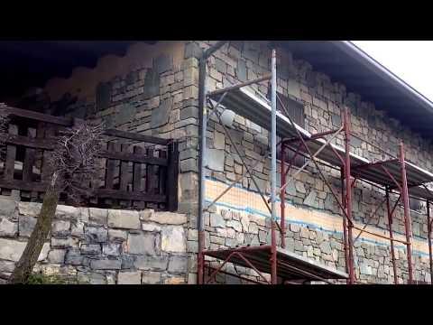 Rivestimenti in pietra naturale per casa in Montagna