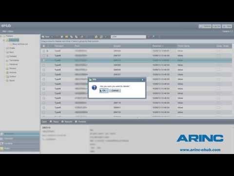 ARINC Enterprise Hub | the future of aviation messaging | Aviation messaging instructional overview