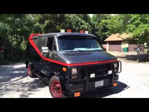 A-TEAM Van Replica by Bob's Prop Shop