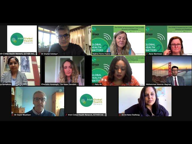 WEBINAR: GLOBAL HEALTH MATTERS by Irish Global Health Network