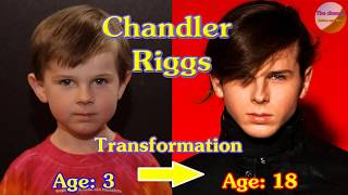 Chandler Riggs transformation from 1 to 18 years old