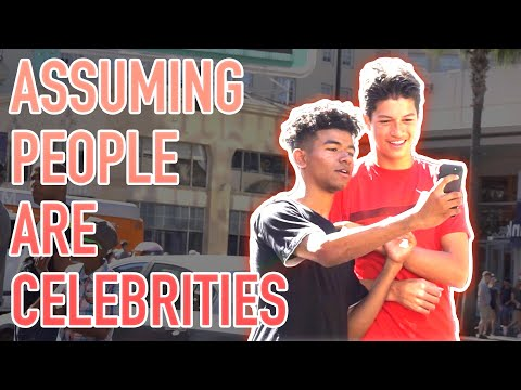 Selfies with Fake Celebrities in Hollywood