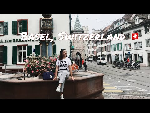 Travel Vlog:Exploring Basel, Switzerland |Travel Guide|