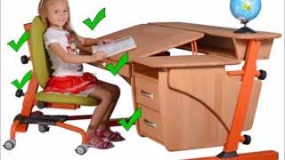 Регулируемые детские парты (от 1450 грн) и ортопедические кресла (2700грн)(, 2015-12-08T22:18:27.000Z)
