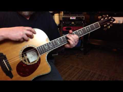 Alternate Tuning EBEF#G#D# - Key E Major