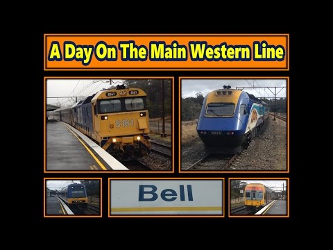SOV139: A Day on the Main Western Line Part One