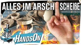Alles im Arsch. Scheiße. - HandsOn 3D Drucker