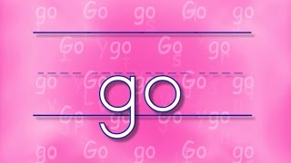The GO Song | Sing & Spell Sight Words!