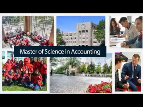 Master of Science in Accounting