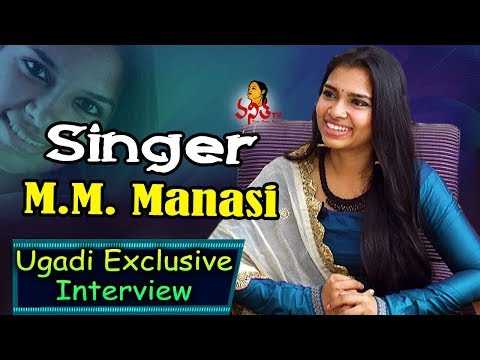 Special Interview with Singer M.M. Manasi || Ugadi Special Program || Vanitha TV