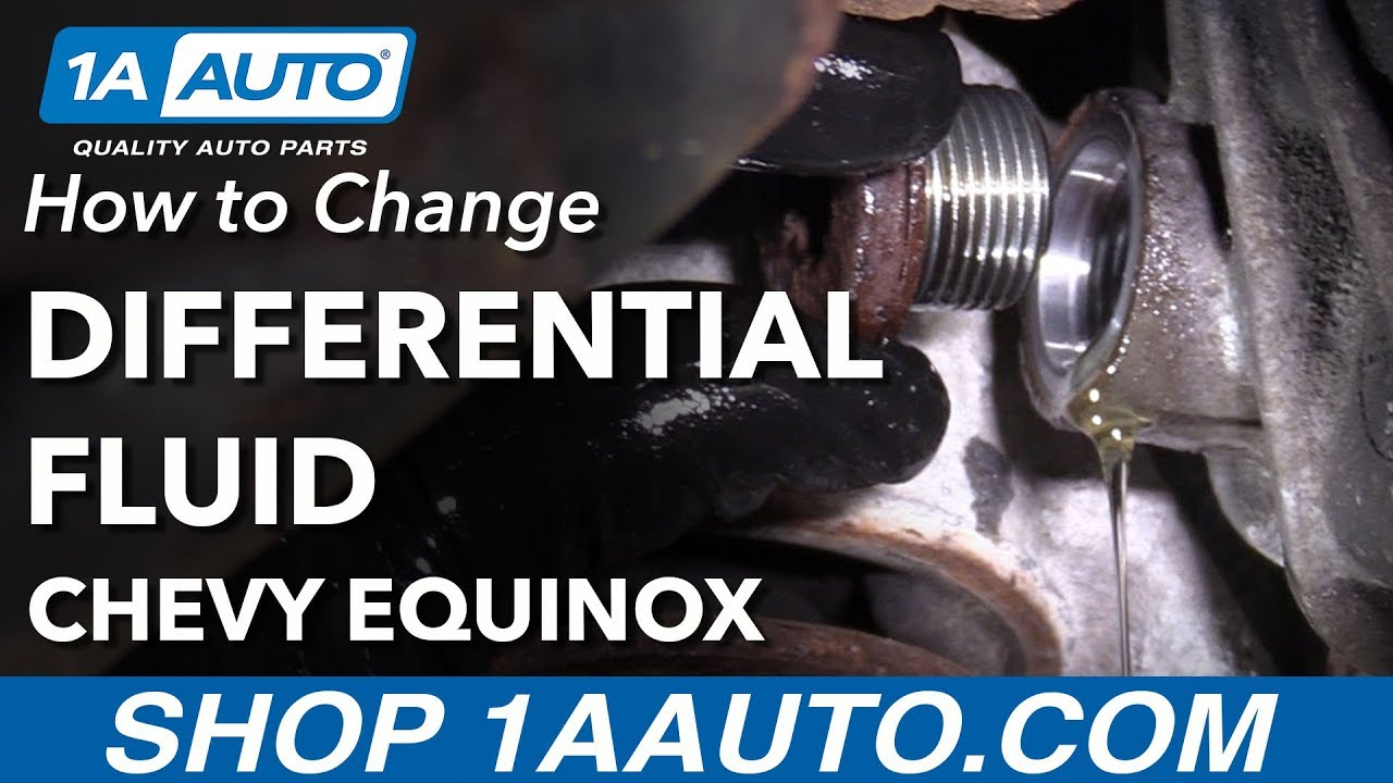 Rear Differential Fluid >> How To Change Rear Differential Fluid 2008 Chevy Equinox