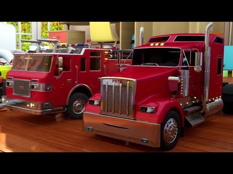 Dessins animés éducatifs de Coilbook France - Les camions et les peintures