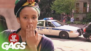 Repeat youtube video Stupid Cops Pranks - Best of Just For Laughs Gags