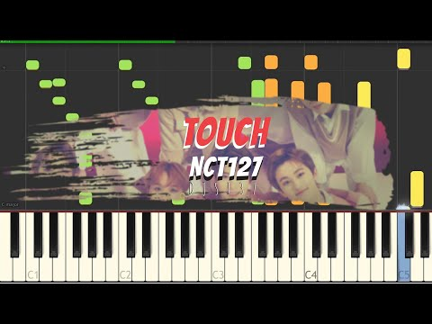 how to play the piano song NCT127 - TOUCH? Easily! Learn with us[Sheets]