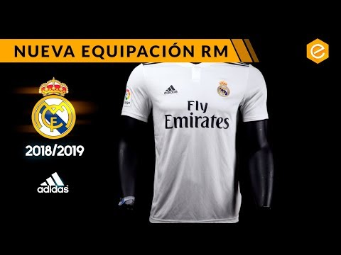 db9d342d NUEVA CAMISETA REAL MADRID 2018/19 - YouTube