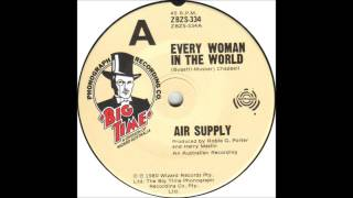 air supply every woman in the world billboard top 100 of 1981