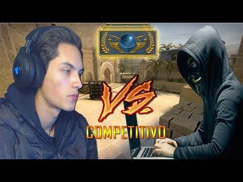 COMPETITIVO CONTRA UM HACKER NA GLOBAL !! | CS:GO |