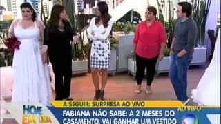 Vestidos de Noiva para gordinhas - Renata Poskus Vaz-  Hoje em dia - Rede Record
