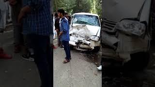 Very bad accident happened at Bangus Valley kupwara