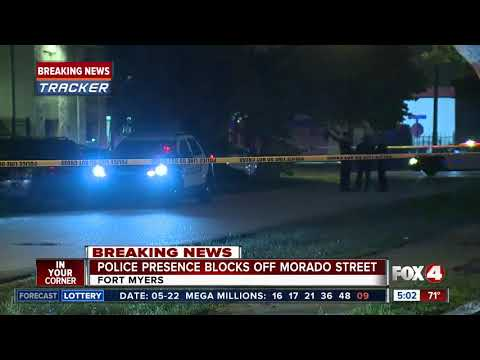 Police investigate shooting on Morado Street in Fort Myers
