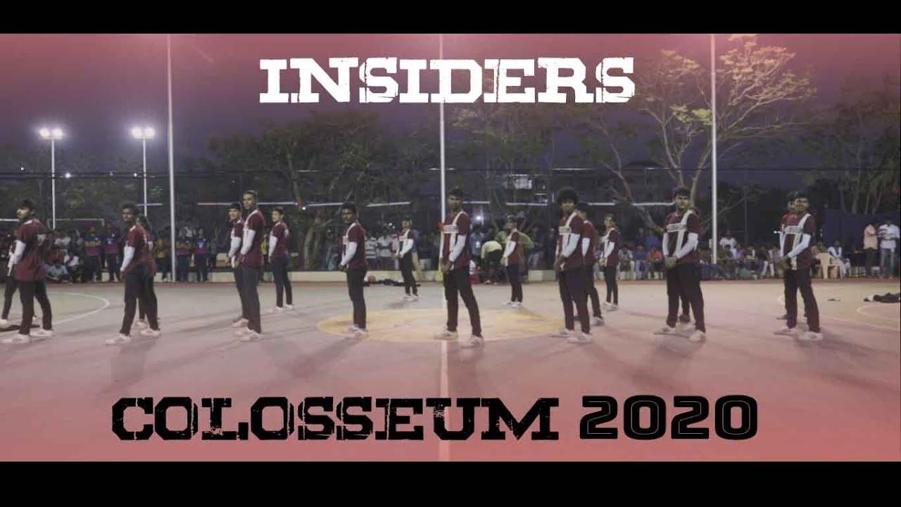 Colosseum '20 Host Performance - INSIDERS CREW