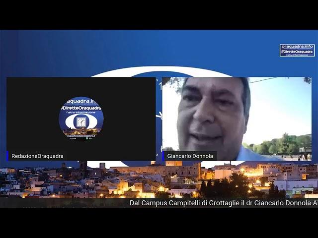 Intervista al dr. Giancarlo Donnola