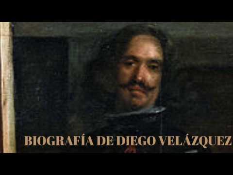 Biografía de Diego Velázquez para niños