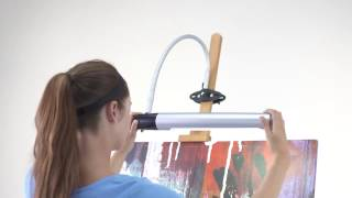 Daylight Professional Artist's Easel Lamp