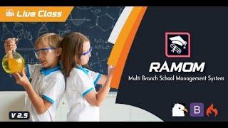 Ramom - Multi Branch School Management System - khosinhvien.com