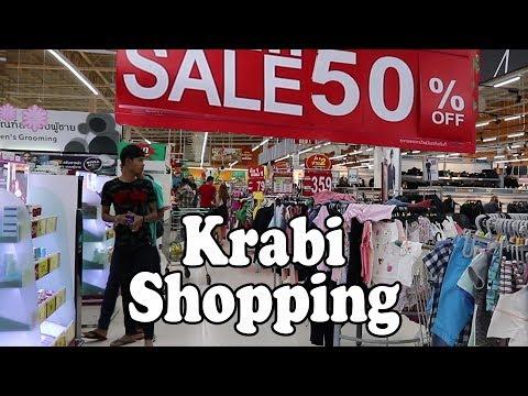 Ao Nang & Krabi Shopping Centres, Markets, Street Shops & Shopping Malls. Krabi Thailand Shopping