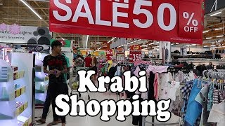 Krabi Shopping: Ao Nang & Krabi Shopping Centres, Markets & Shopping Malls. Krabi Thailand