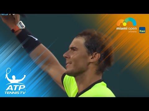 Nadal, Nishikori win openers, Dimitrov beaten | Miami Open 2017 Highlights Day 3