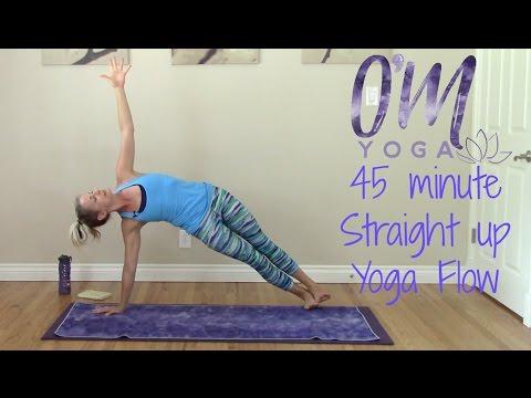 Power Vinyasa Yoga Flow - 45 minute Straight up Flow