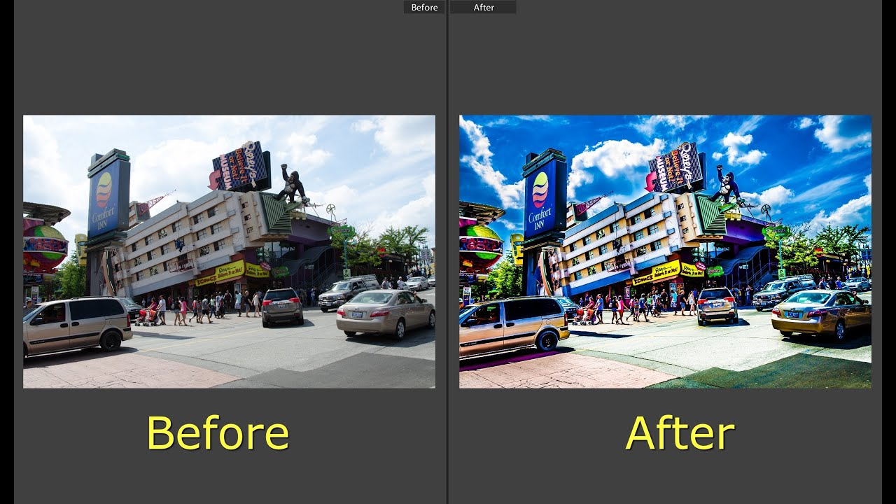 Learn Lightroom 5 – Part 15: Create An HDR Like Effect With Lightroom (Training Tutorial)