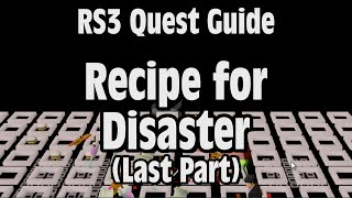 RS3: Recipe for Disaster (Last Part) Quest Guide - RuneScape