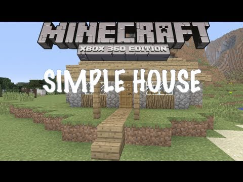 Simple House Minecraft Xbox One 360 Tutorial YouTube