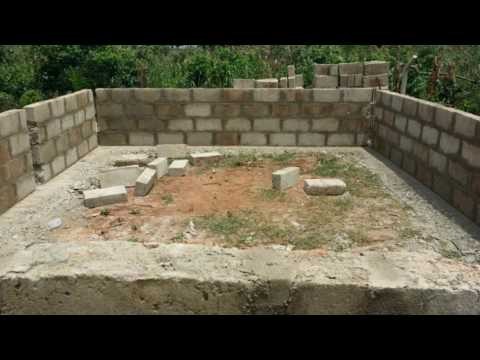 my building project in Ghana
