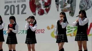 香川発アイドル きみともキャンディ 2012/05/05 高松市 サンポート高松.
