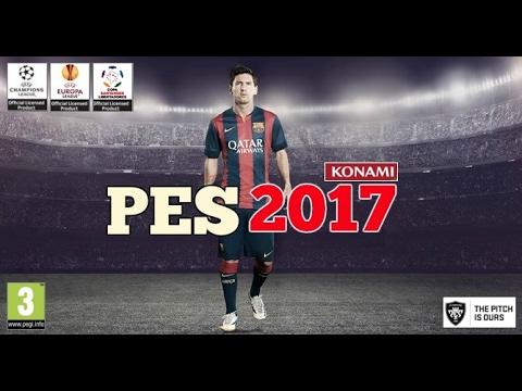 Как установить лица на PES 2017?