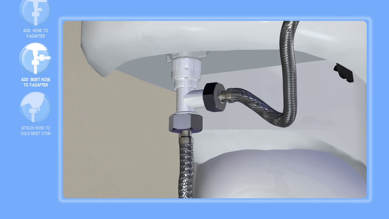 How To Install The Luxe Bidet Neo Youtube
