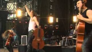 Apocalyptica - Enter Sandman (Live At Rock Im Park).mpg
