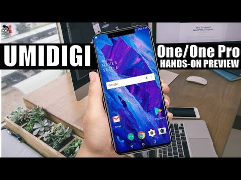 UMIDIGI One/One Pro Hands-on Preview: Budget Version of UMIDIGI Z2?