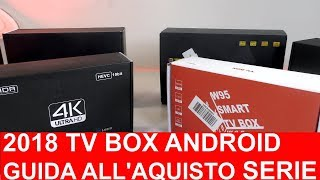 2018 TV BOX ANDROID GUIDA ALL