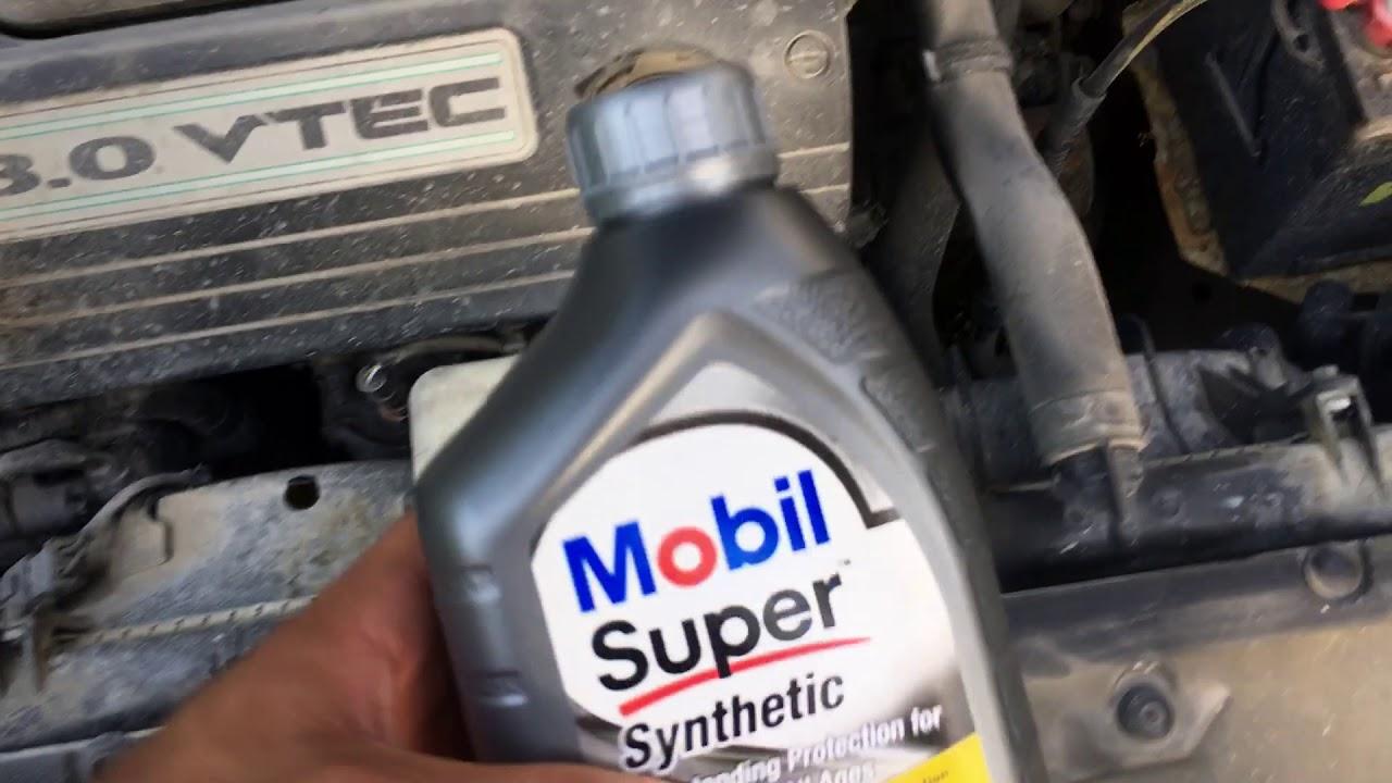 2004 honda accord transmission fluid check