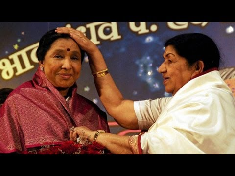 lata mangeshkar ends rivalry asha bhosle youtube