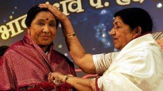 Lata Mangeshkar Ends Rivalry With Asha Bhosle ! thumbnail