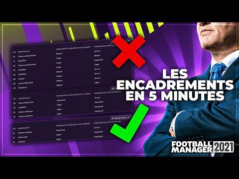 Football Manager - Les encadrements en 5 minutes ! |
